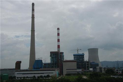 """14日,媒体报道,京信湛江东海电厂2×600mw(兆瓦)""""上大压小""""""""热电联产"""""""