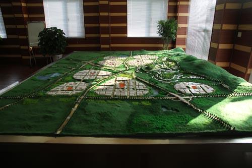 组图:中德生态园现场