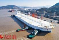 亚洲最大原油码头首靠全球最大船