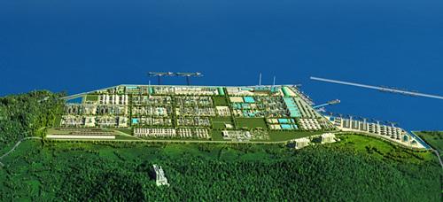 恒力石化(大连长兴岛)产业园全貌图
