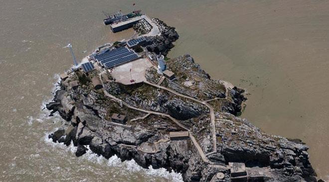 智能微电网正式建成投运 开山岛将告别缺水缺电历史