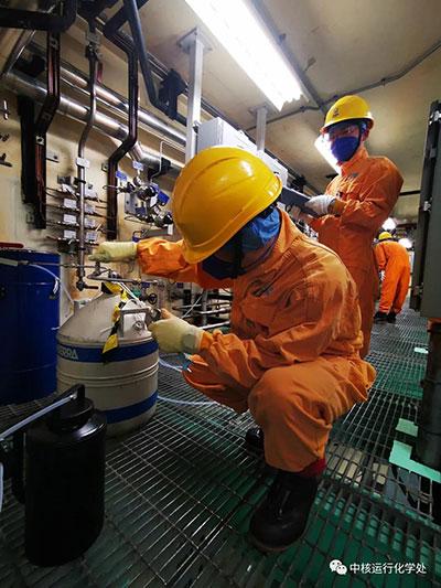中国核电旗下工厂成功完成环隙气体重水提取工作