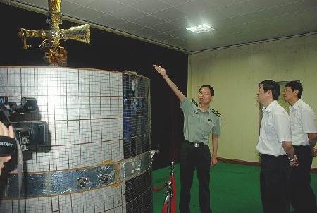 张宁副总经理走访西安卫星测控中心(图)图片