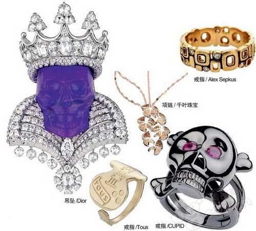 高调珠宝 史上最奢华钻石骷髅头